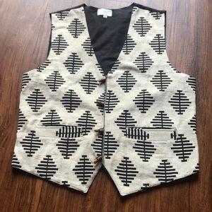 Jackets & Blazers - Woven vest size xl